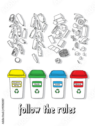 Fototapety, obrazy: Recycles 2
