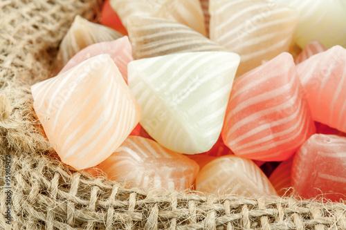 Foto op Aluminium Snoepjes sac de berlingots