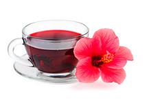 Hibiscus Flower And Tea