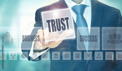 Fotografía  Trust Concept