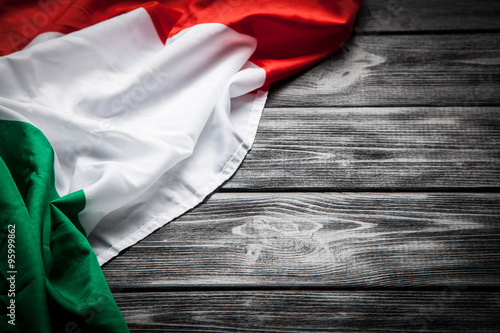 Fotografiet  Flag of Italy