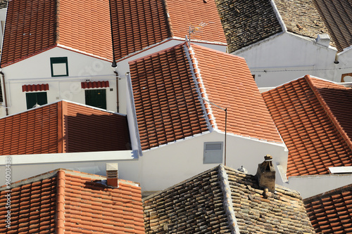 Fotografie, Obraz  roofs at Pisticci old town