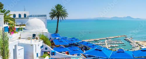 Photo sur Aluminium Tunisie The luxury view
