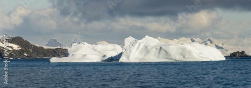 Autocollant pour porte Arctique Base Esperanza, Argentine, Hope Bay, Antarctique, Terre de Graham, Antarctique