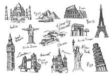 Travel Icon Sketch