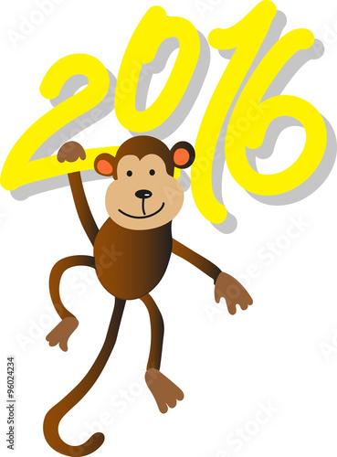Photo  monkey year