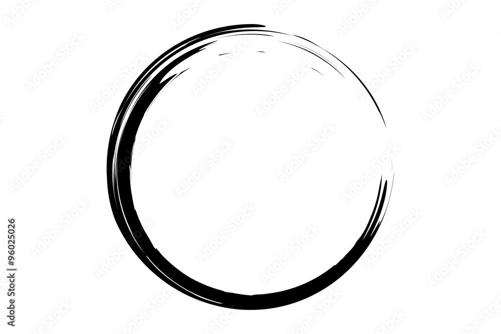 Fototapety, obrazy: black circle illustration
