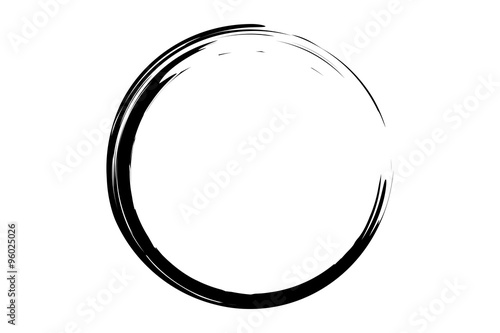 black circle illustration