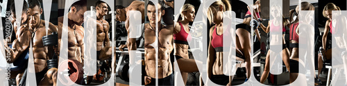 Poster Fitness bodybuilding