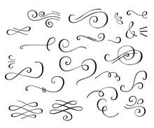 Flourish Swirl Ornate Decoration