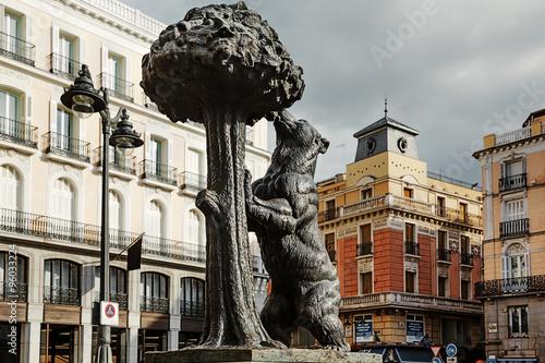 Madrid,  Puerta del Sol, Oso y el Madroño