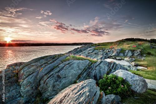 Photo Sonnenuntergang Yarmouth in Nova Scotia