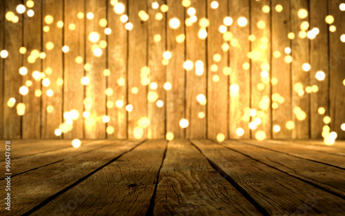 weihnachtliche lichterkette vor holz buy this stock photo and explore similar images at adobe. Black Bedroom Furniture Sets. Home Design Ideas