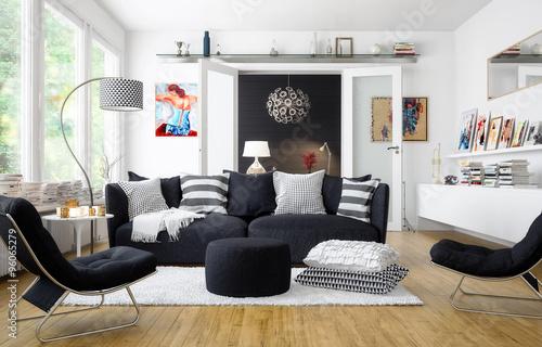 Fotografia  Wohnzimmer