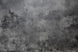 Fototapeta Rocks - gray background wall made on real plaster
