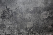 Gray Background Wall Made On Real Plaster