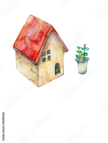 Pinturas sobre lienzo  家の置物