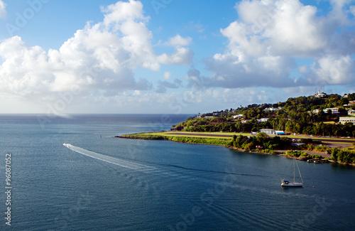 Foto op Plexiglas Caraïben Карибы. Остров Сент-Люсия