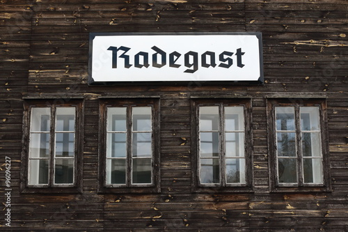 Fotografía Radegast Station memorial