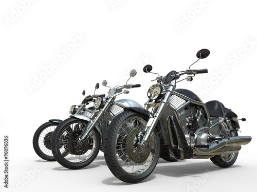 Three awesome motorcycles Poster