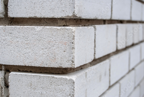 White Brick Wall Corner As Background Buy This Stock Photo And
