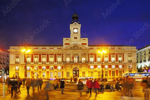 Plakat Madryt, Puerta del Sol