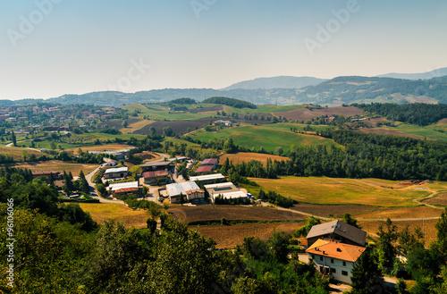 Fotografie, Obraz  small village in Tuscany, Italy