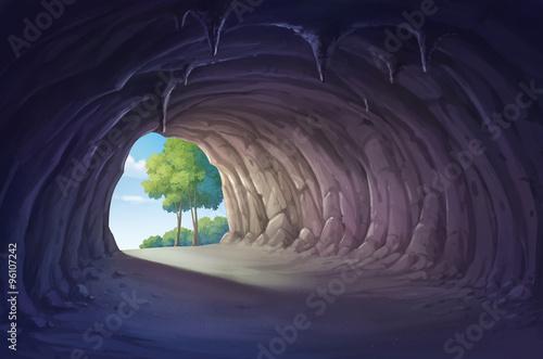 Fotografie, Obraz  cave