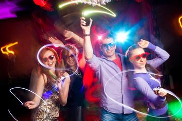 Fototapeta dancing party