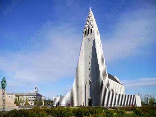 Fotografija  Hallgrímskirkja in Reykjavík
