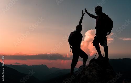 Fotografia  zirve macerası ve başarısını kutlamak