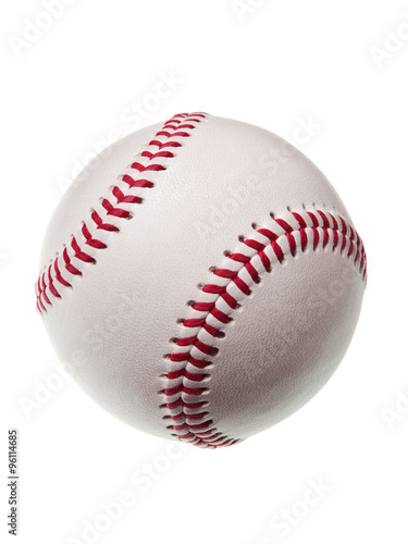 Photo  new baseball isolated on white background