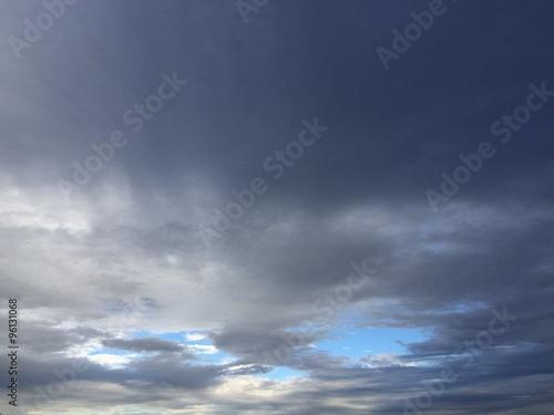 Fényképezés  cloudy sky