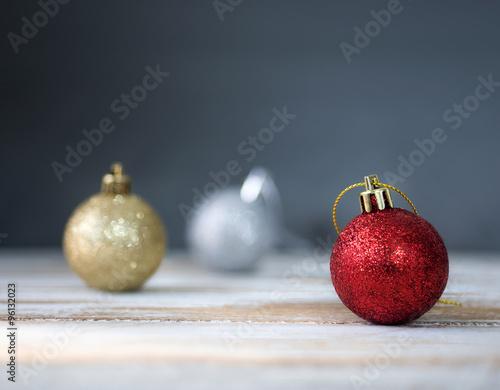Fotografia, Obraz  christmas baubles