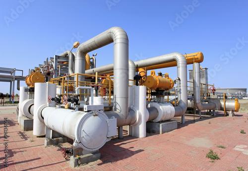 Oilfield equipment - Buy this stock photo and explore