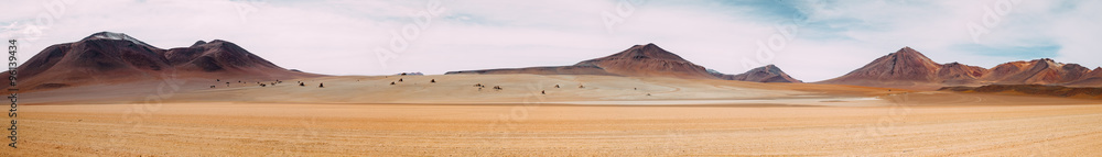 Fototapeta The vast expanse of nothingness - Atacama Desert - Bolivia