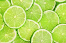 Lime Slice Background