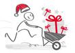 Weihnachtseinkauf - schnelle Lieferung