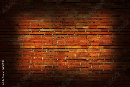 Foto op Aluminium Wand Background of old vintage brick wall