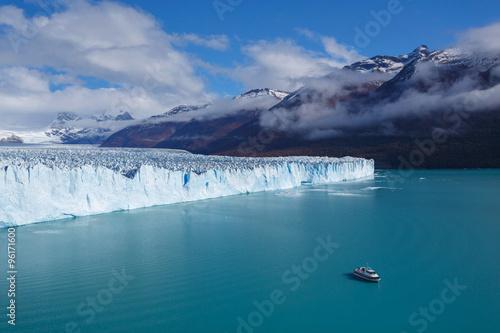 Valokuva  Glacier Perito Moreno, National Park Los Glasyares, Patagonia, A
