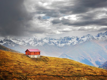 Lonely Red House