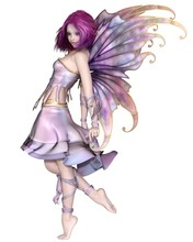 Pretty Purple Fairy - Fantasy ...