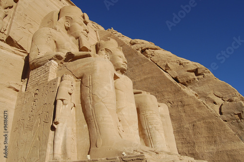 Photo  King Ramses II - Abu Simbel Temple - Egypt