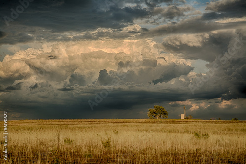Poster Texas West Texas storm rolling in