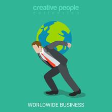 Worldwide Business Businessman...