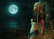 Moonlight Fairy, 3d CG