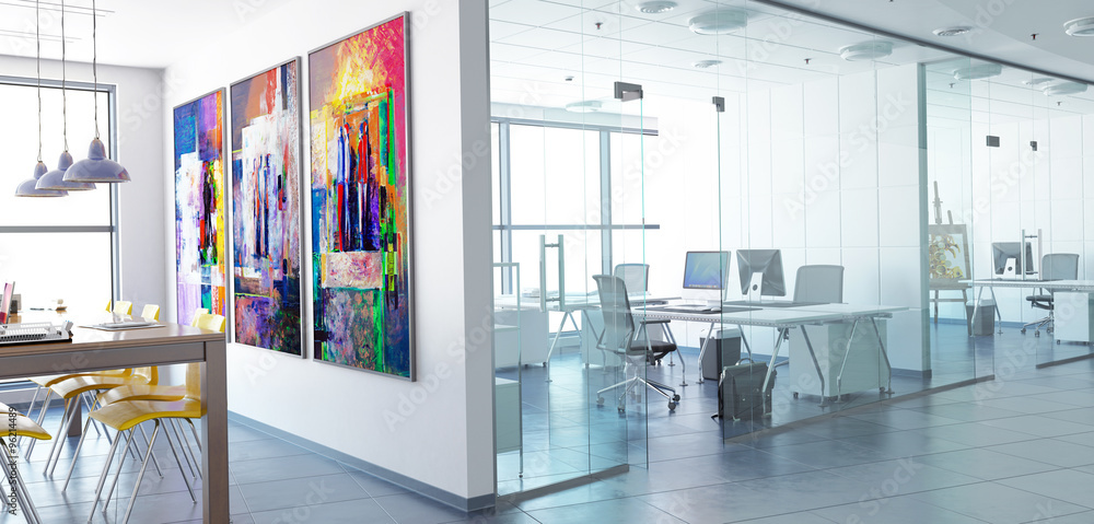 Fototapeta Office Conception (panoramic)