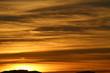 St. Gallen - Switzerland hills at sunset, taken from Schoellergasse, Bregenz in Austria.