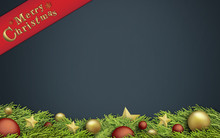 Christmas Abstract Background Illustration