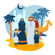 Muslim Family Concept